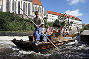 "Tour of Český Krumlov from a raft on ""Day with Handicap - Day without Barriers"""