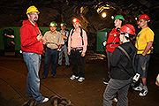 "Tour of the Český Krumlov Graphite Mine on ""Day with Handicap - Day without Barriers"""