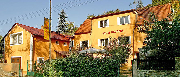Havana Hostel offers cheap accommodation in the Cesky Krumlov