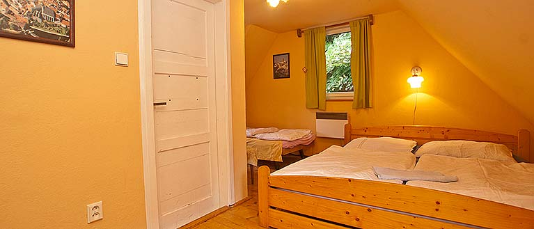 Romantic Room no. 22 at the Havana Hostel Český Krumlov